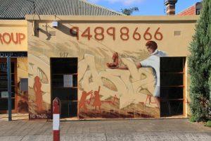 Northcote Medical Centre exterior wall murals