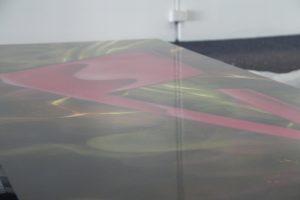 Laminate tables street art paintjob