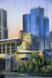 Cityscape - Fine Art - Wall Mural