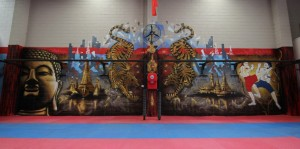 Muay Thai Gym Street Art