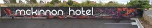 McKinnon Hotel, Sign Writing Graffiti Artist