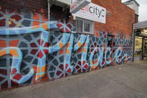 Hume city graffiti mural