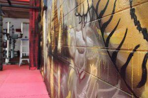Graffiti Artist Melbourne Set It Off Gym Detail Slider
