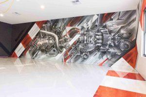 Graffiti Artist Melbourne Set It Off Garage Slider
