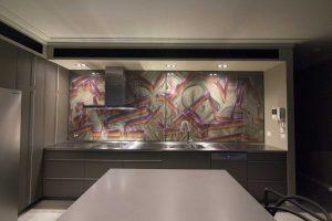Graffiti Artist Melbourne Set It Off Kitchen Slider
