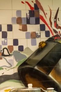 Kitchen Tile Art