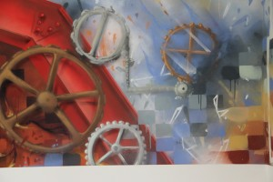 Catapult Sports, Office Interior Mural