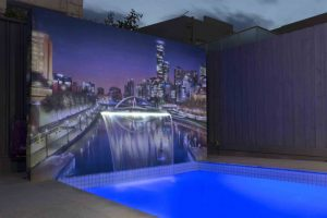 Poolside Wall Art