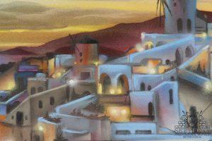 Mediterranean Theme Feature Wall