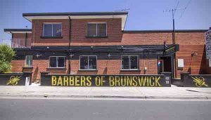 Barbers Of Brunswick Custom Skateboard Signage