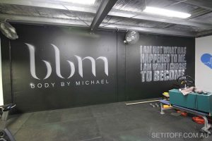 Body By Michael Signage