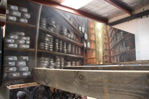 Harry Potter Mecca Interior Decor