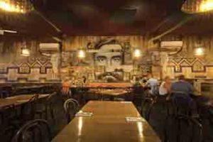 Carlos Cantina Mexican Restaurant Interior Mural