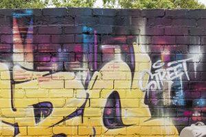 Traditional Graffiti Wall Mural