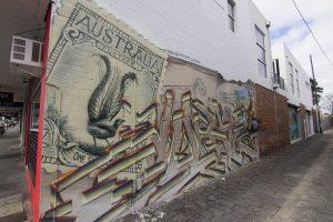 Australia Post Graffiti Art Mural