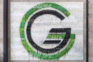 Get Going PT Interior Graffiti Sign