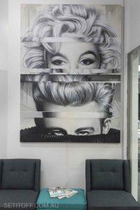 Monroe And Dean Trussardi Hair Salon
