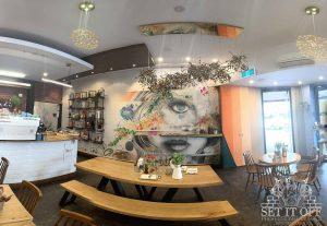 Custom Facade Wall Art and Graffiti Thoroughfare - Main Room