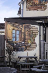 Depot Trompe L'oeil Architectural Mural-front-closeup2