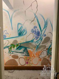 Custom Facade Wall Art and Graffiti Thoroughfare - Graffiti Close Up