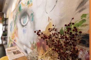 Custom Facade Wall Art and Graffiti Thoroughfare - Close Up