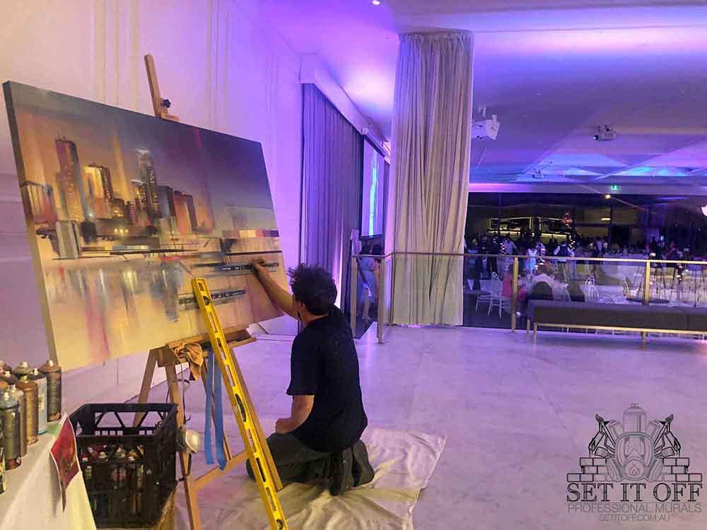 Graffiti Artist Wedding Event Live Feature Image
