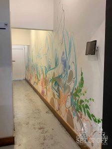Custom Facade Wall Art and Graffiti Thoroughfare - Thoroughfare