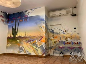Mexican Restaurant Interior Wall Art_Boronia_1