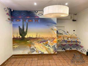 Mexican Restaurant Interior Wall Art_Boronia_2