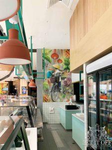 Shopping Centre Restaurant Feature Wall_Main1