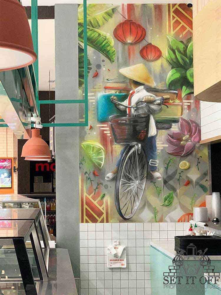 Shopping Centre Restaurant Feature Wall_Main_f