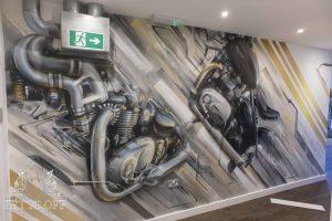 Triumph Motorcycle Art_Main
