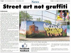 Press Article Street Art Not Graffiti