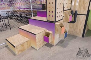 Full Fit Out Interior - Dribbles - Kids Area