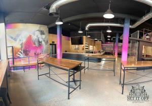 Full Fit Out Interior - Dribbles - Span Panoramic