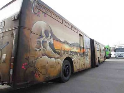 Wasted Generation Bus Exterior