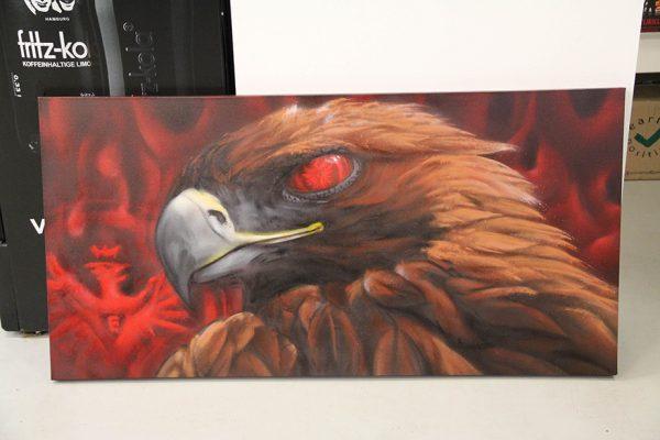 UF 97 Mascot fan art on canvas