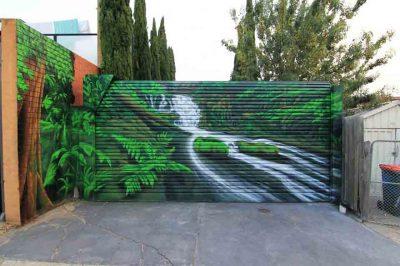 Rainforest Roller Door