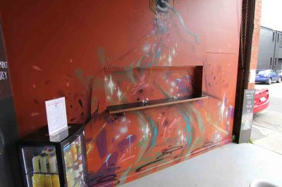 Graffiti Coffee Grinder
