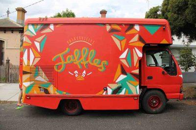 Baskervilles Food Truck, Sign Writing