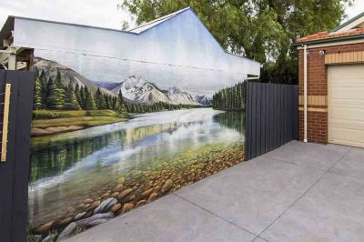 Engagement, Background Theme Mural