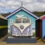 Brighton Beach Hut Mural