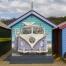 Brighton Beach Hut Mural