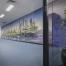 Cityscape Hallway