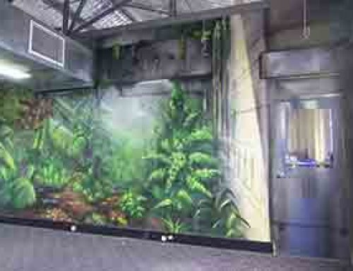 Urban Forest Interior Mural