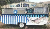 Vintage Fish N Chips Trailer