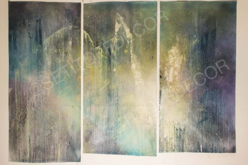 Triptych Original Canvas - Wings