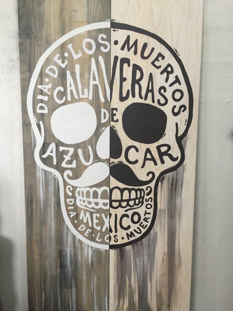 Dia De Los Muertos Custom Painting