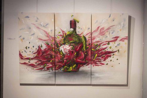 Women Wine Lion