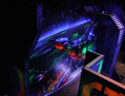 Laser Arena UV Fit Out